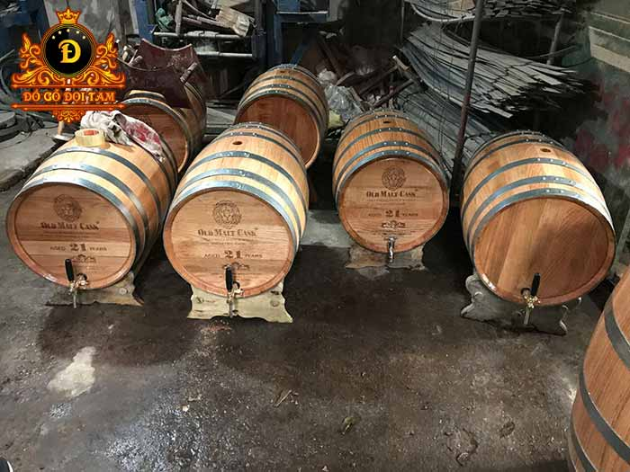 Sản xuất thùng rượu gỗ tại làng nghề Đọi Tam - Đặt mua thùng rượu gỗ ☎ 0971.009.886 #thunggo #doitam #duytien #hanam #vietnam #dogodoitam