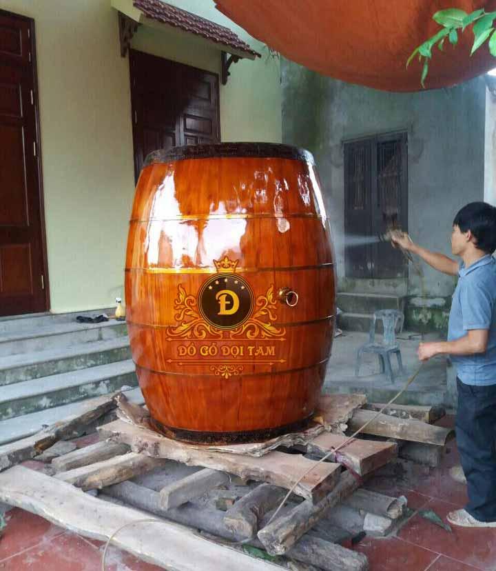 Sản xuất trống đại tại làng nghề Đọi Tam - Đặt mua trống đại ☎ 0971.009.886 #tronggo #doitam #duytien #hanam #vietnam #dogodoitam