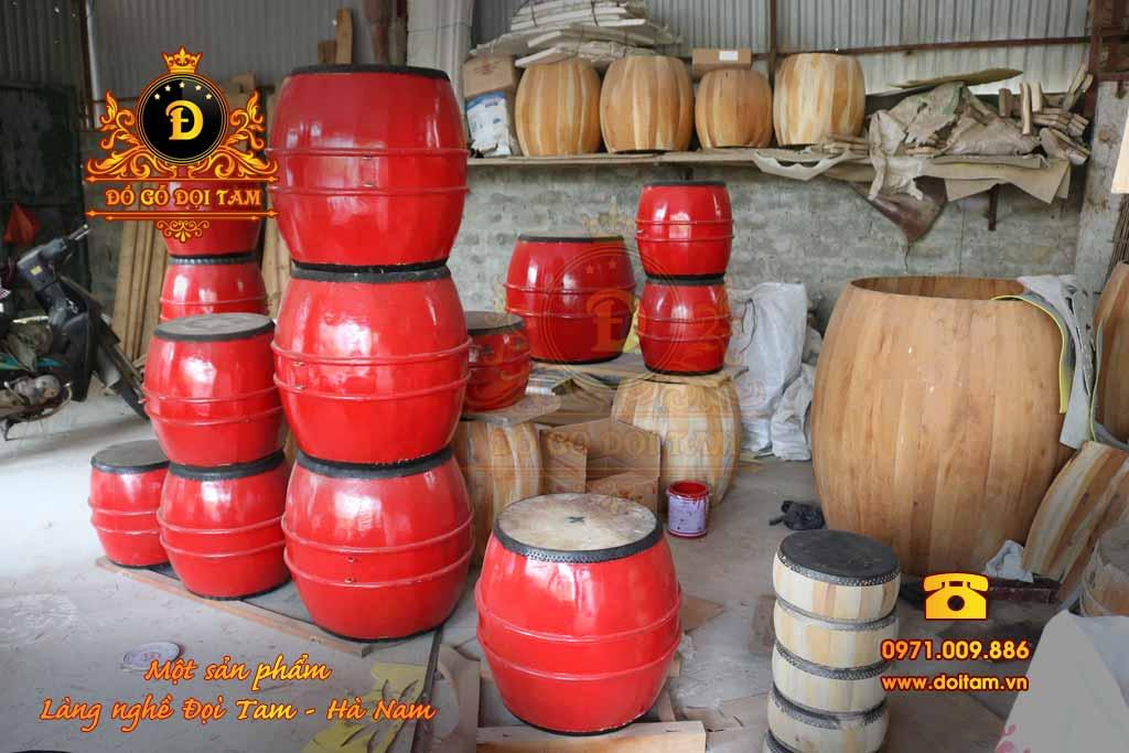 Cơ sở sản xuất trống gỗ tại làng nghề Đọi Tam - Đặt mua trống gỗ ☎ 0971.009.886 #tronggo #doitam #duytien #hanam #vietnam #dogodoitam