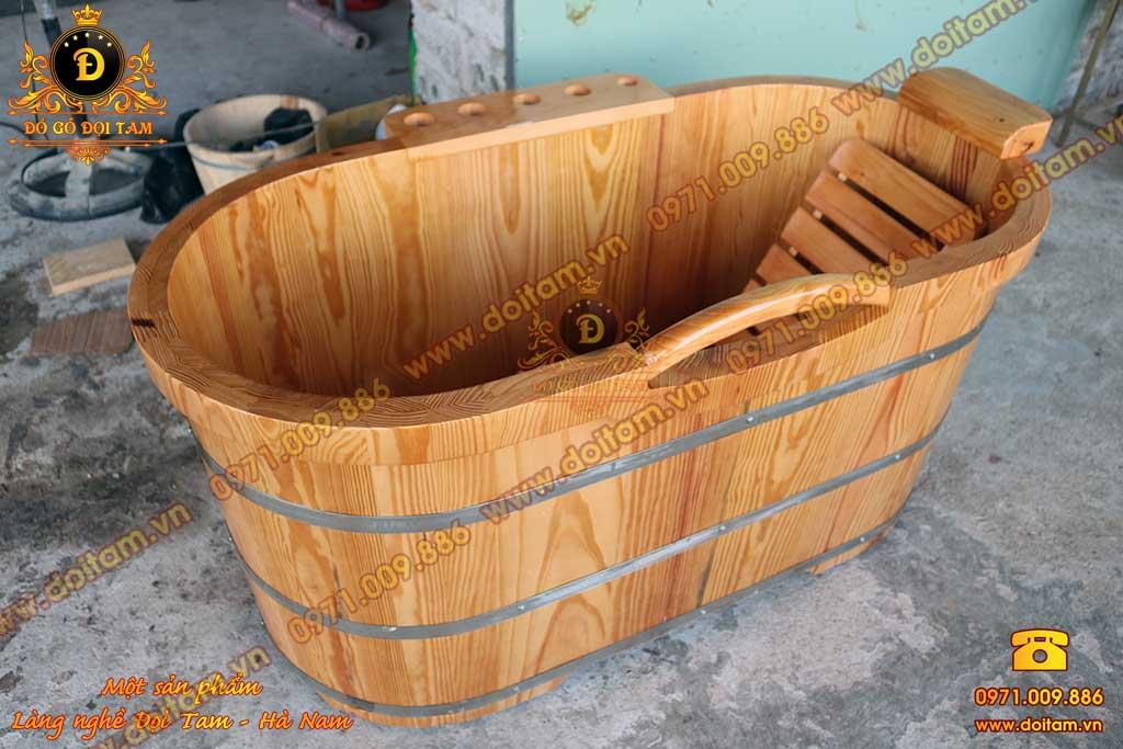 Bồn tắm gỗ chuẩn Spa