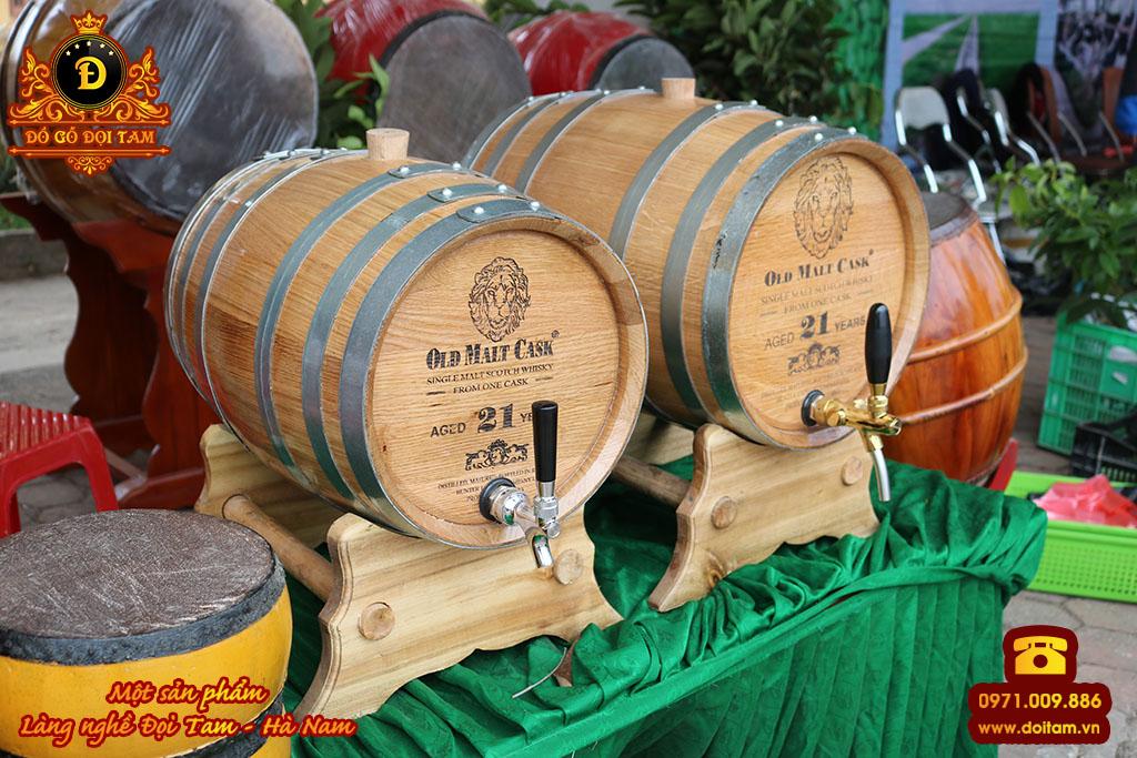 Bàn giao Thùng Gỗ Sồi Ngâm Rượu tại Hải Phòng - Đồ Gỗ Đọi Tam