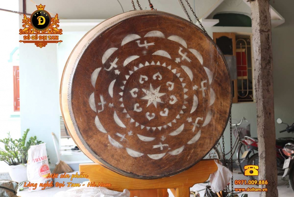 Bán trống gỗ Đọi Tam tại Tuyên Quang