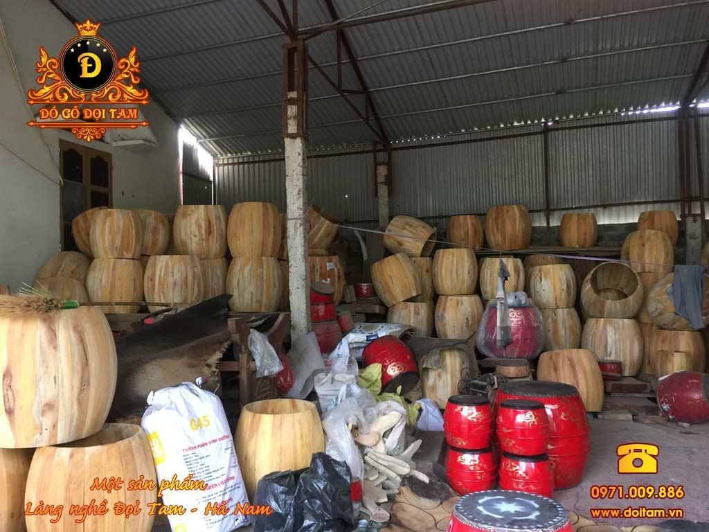 Bán trống gỗ Đọi Tam tại Ninh Bình