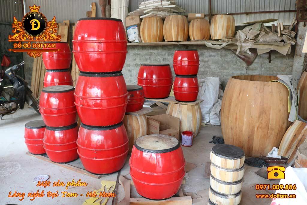 Bán trống gỗ Đọi Tam tại Bắc Giang