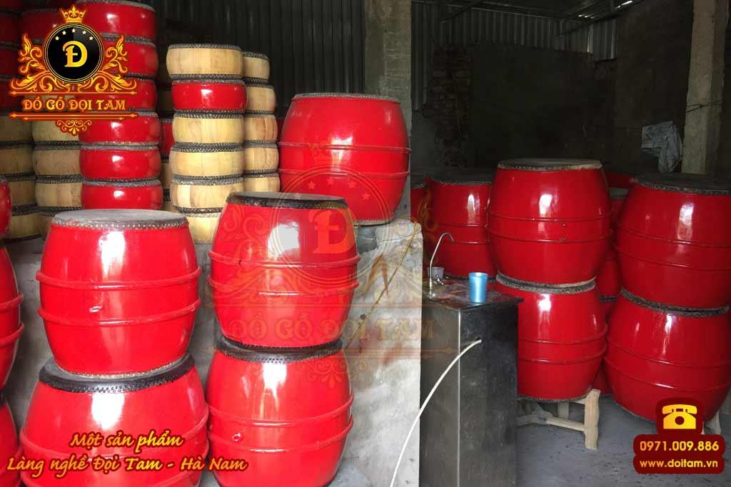 Cơ sở sản xuất trống gỗ tại Đà Nẵng