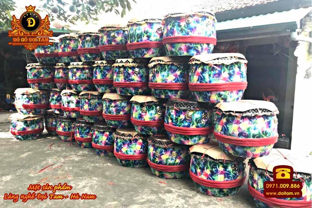 Trống múa lân tại Xã Trung An