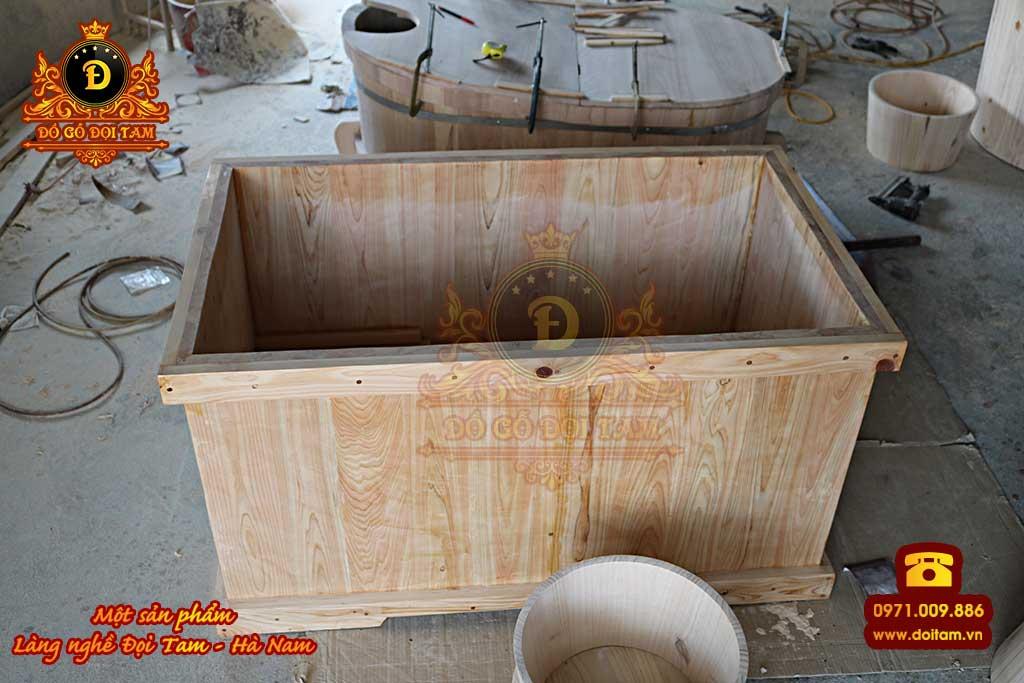 Cơ sở sản xuất bồn tắm gỗ tại Hồ Chí Minh