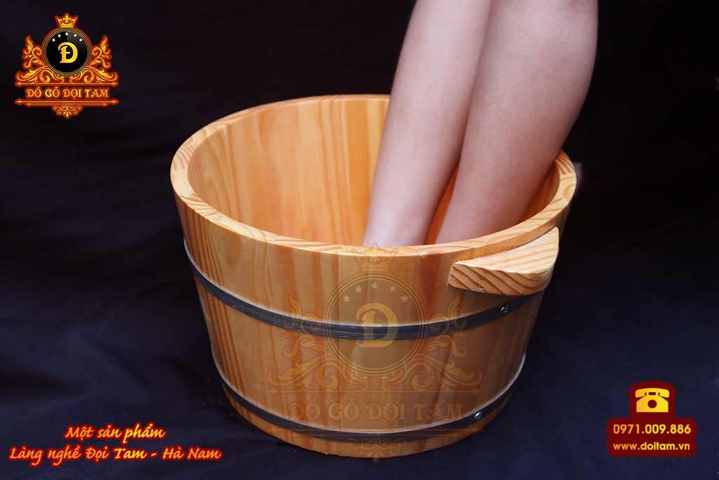 Sản xuất chậu gỗ ngâm chân cho các cửa hàng Spa tại làng nghề Đọi Tam - Đặt mua chậu gỗ ☎ 0971.009.886 #chaugo #doitam #duytien #hanam #vietnam #dogodoitam