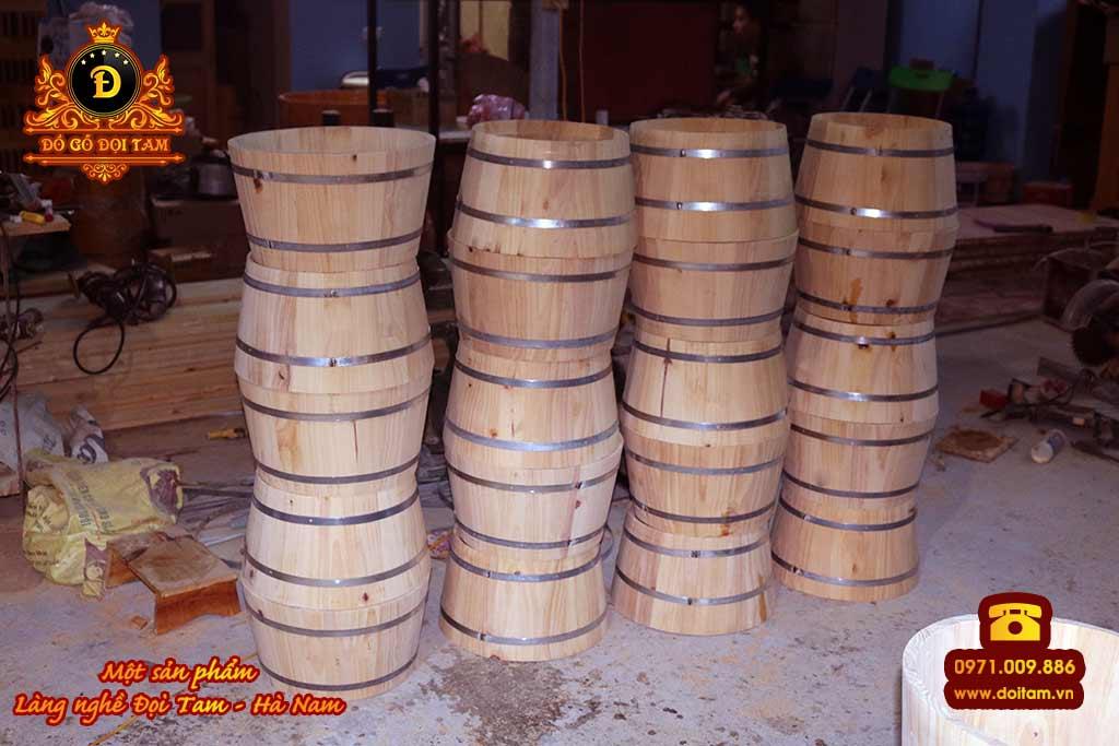 Cơ sở sản xuất chậu gỗ ngâm chân tại làng nghề Đọi Tam - Đặt mua chậu gỗ ngâm chân ☎ 0971.009.886 #chaugo #chaugongamchan #doitam #duytien #hanam #vietnam #dogodoitam