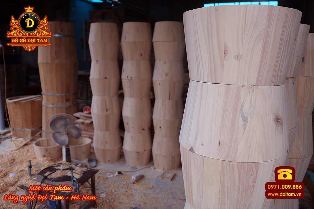 Chậu ngâm chân gỗ Thông giá rẻ