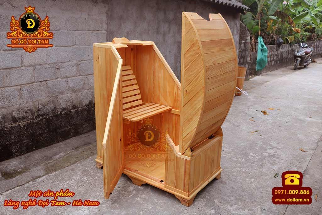 Cơ sở sản xuất thùng gỗ tại Bắc Giang