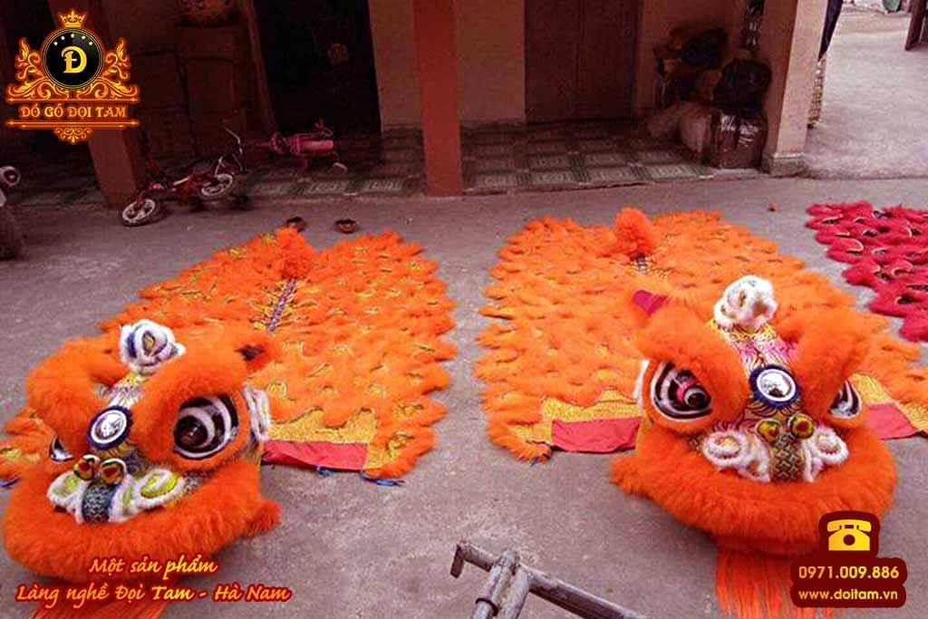 Sản xuất lân sư rồng cho dịp Trung Thu - Đặt mua lân sư rồng ☎ 0971.009.886 #daulan #lansurong #doitam #duytien #hanam #vietnam #dogodoitam #spa