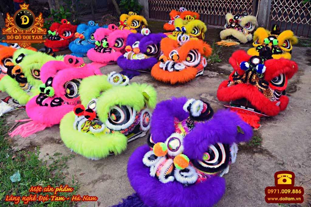 Cơ sở sản xuất - bán lân sư rồng tại làng nghề Đọi Tam - Đặt mua lân sư rồng ☎ 0971.009.886 #daulan #lansurong #doitam #duytien #hanam #vietnam #dogodoitam