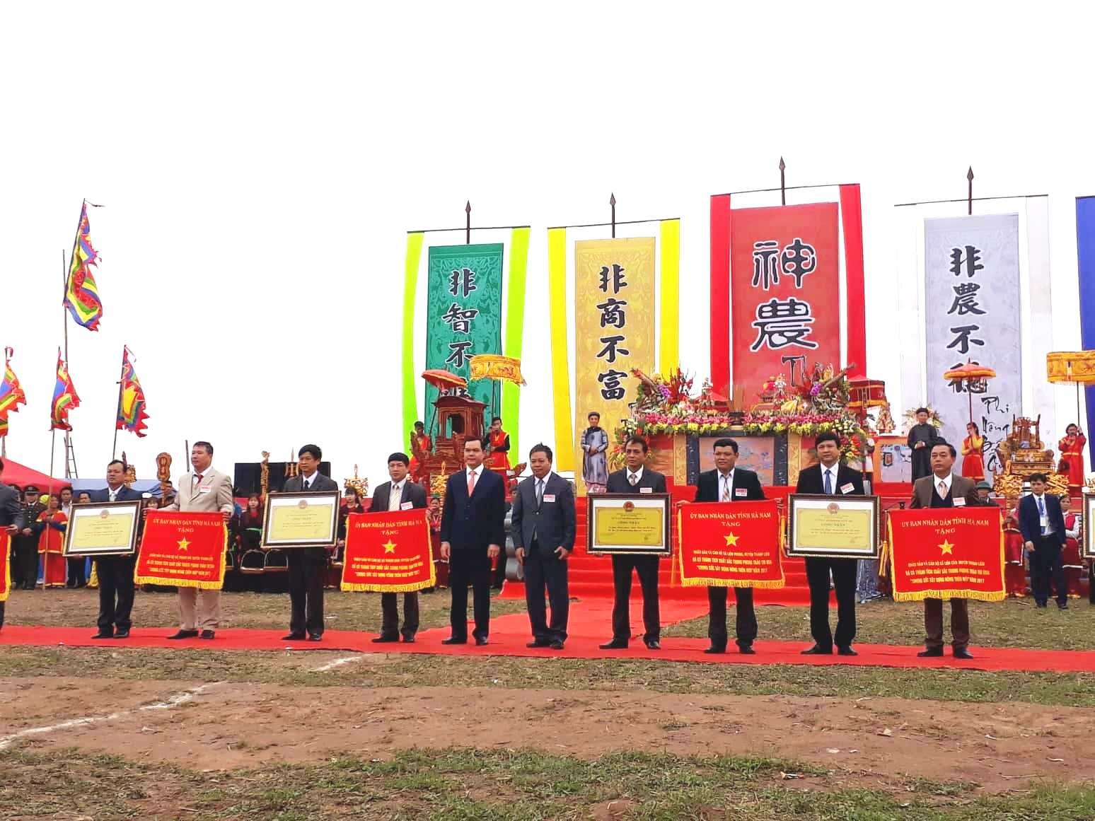 Lễ hội tịch điền xã Đọi Sơn, Hà Nam