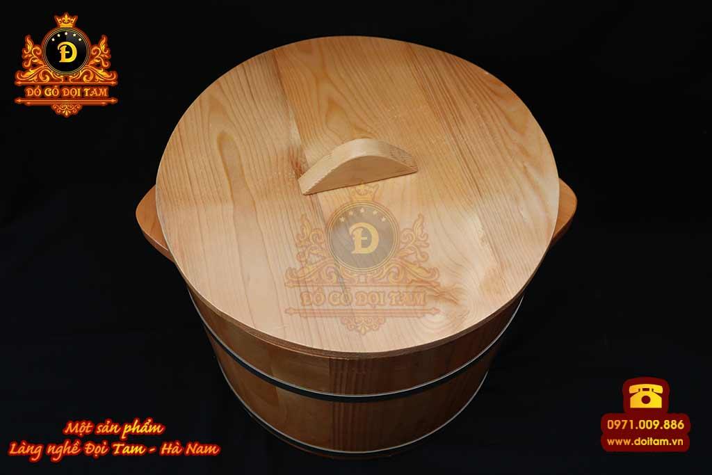 Thùng Gỗ Đựng Gạo 15 kg