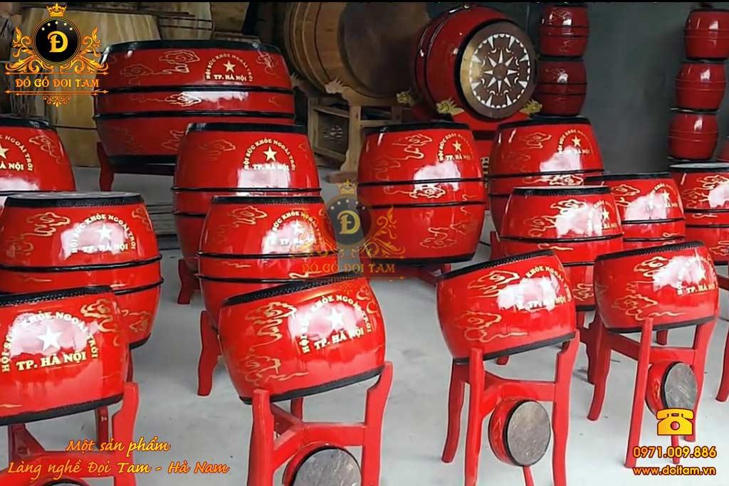 Cơ sở sản xuất trống lễ hội tại làng nghề Đọi Tam - Đặt mua trống lễ hội ☎ 0971.009.886 #tronggo #tronghoi #dantronghoi #tronglehoi #doitam #duytien #hanam #vietnam #dogodoitam