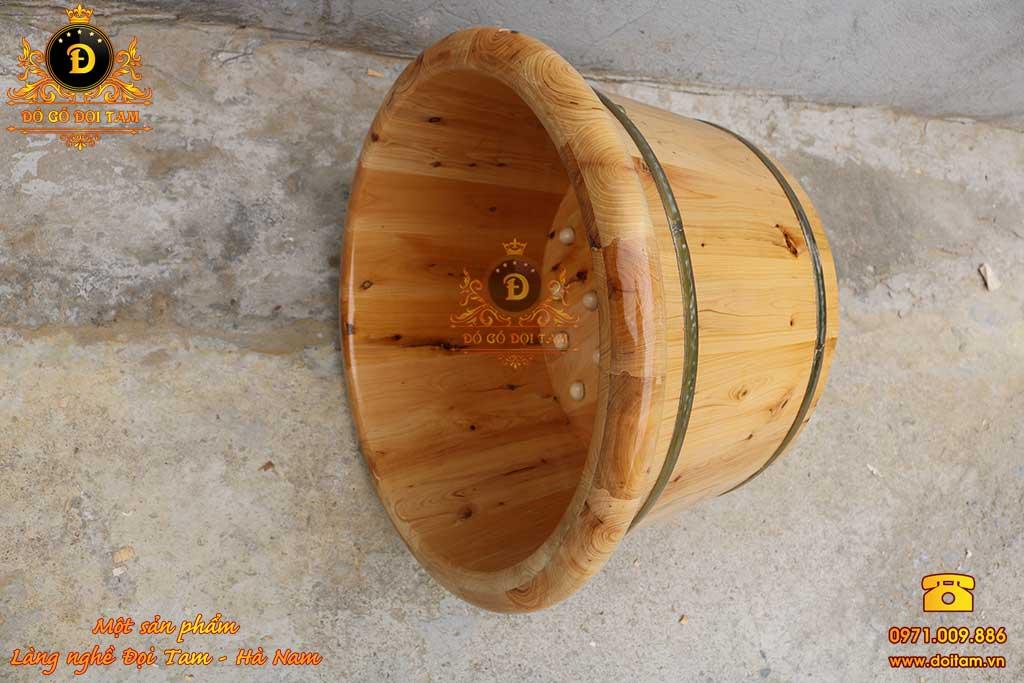 Chậu gỗ ngâm chân nhập khẩu