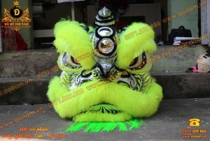 Đầu Lân Mengkok Lông Cừu Xanh Chuối
